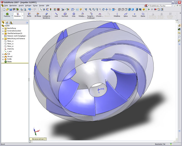 effect of impeller clearance in solid The effect of impeller shape on off-bottom the presence of an immersed solid (impeller) the anchor impeller clearance and location within the.